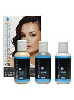 KHS Moisturizing Hair System Kit ( Blauw )