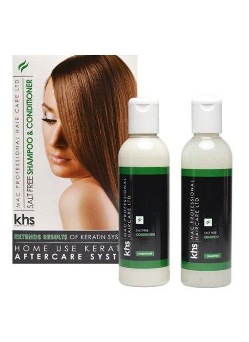 KHS Salt Free Shampoo & Conditioner Groen
