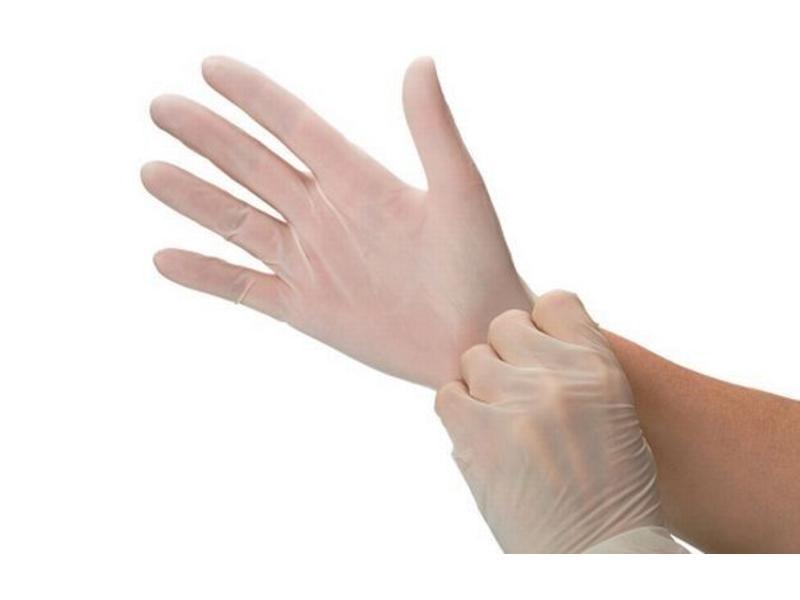 Abena Handschoenen Vinyl 100 stuks Ongepoederd