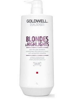 Goldwell Dualsenses Blondes en Highlights Anti-Yellow Shampoo 1000ml