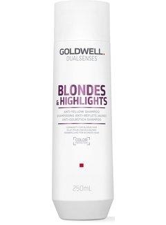 Goldwell Dualsenses Blondes en Highlights Anti-Yellow Shampoo 250ml
