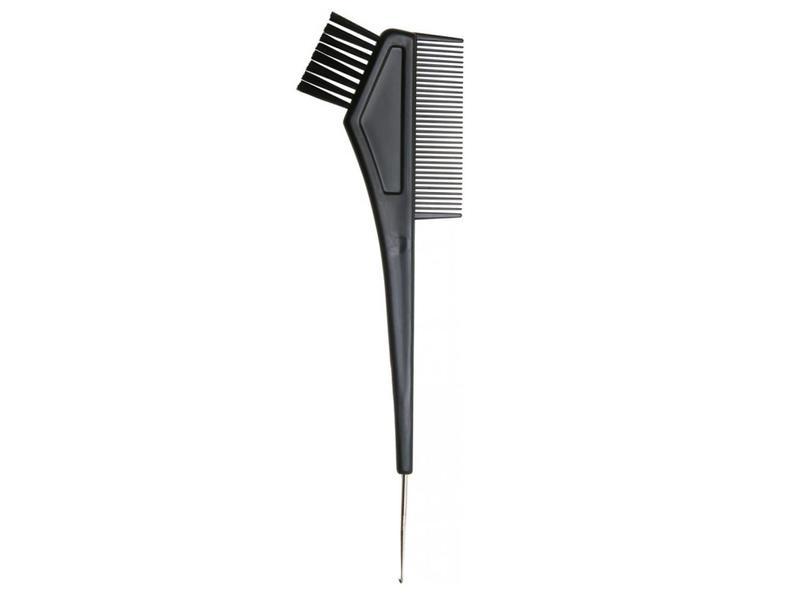 Comair Black Comb + Hook Verf Penceelkam