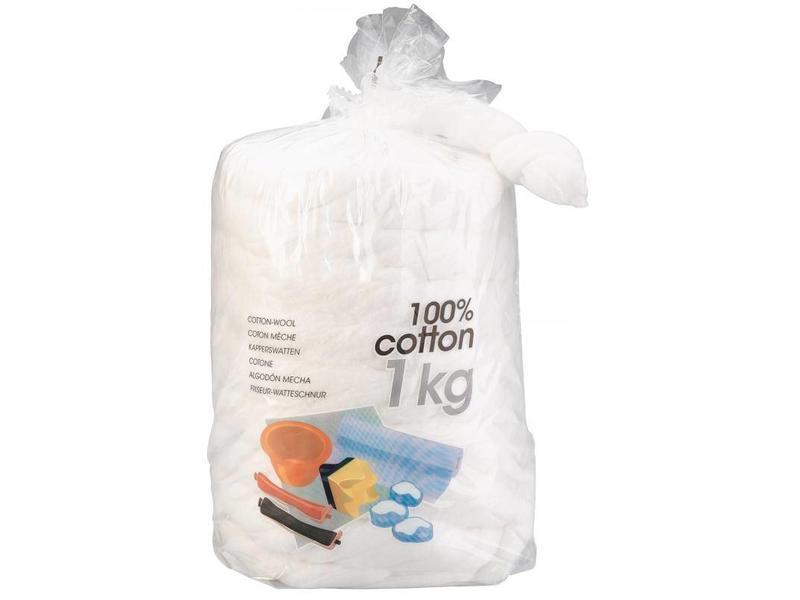 Sibel Sibel Lontwatten 1000 gram 100% katoen