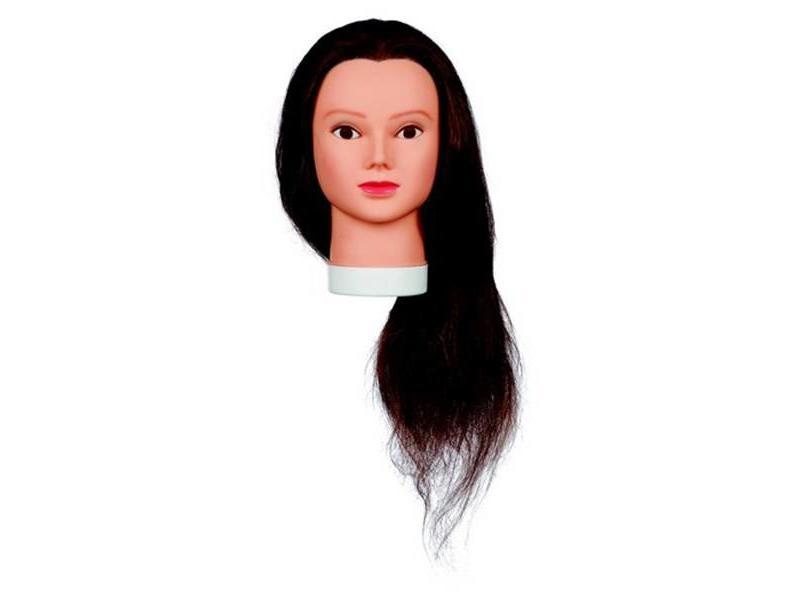 Sibel Best Buy Oefenhoofd Lady 60cm Human Hair