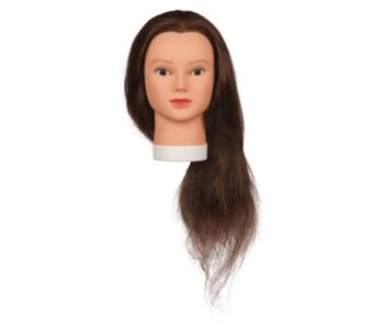 Sibel Best Buy Oefenhoofd Lady 60cm Human Hair