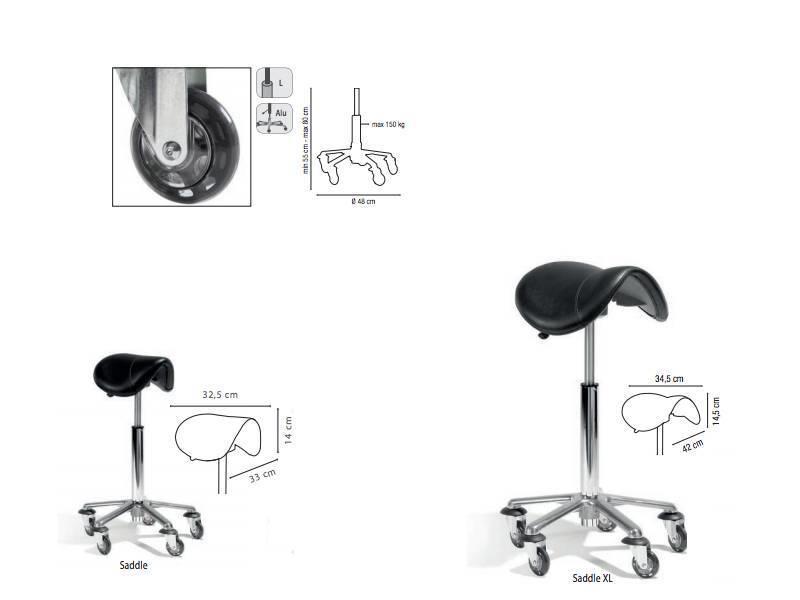 Sibel Zadelkruk Rollercoaster Exclusive, Small 55-80 cm