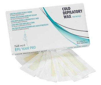 Sibel Koude Epilatiewax voor het Gelaat  6x2 strips