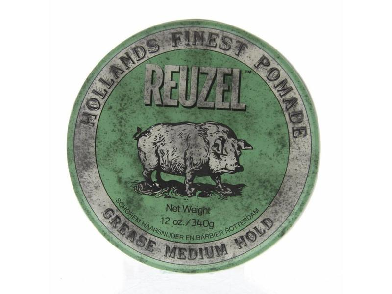 Reuzel Pomade Green Medium Hold 113 gram