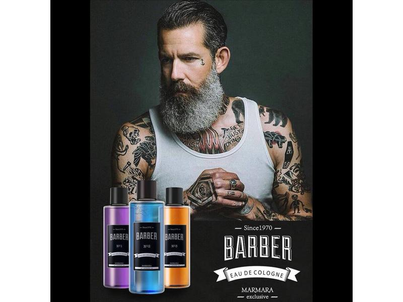 BARBER Cologne NO1 Paars 500ml