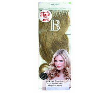Balmain Fill-In Extensions Value Pack 40 cm - 100 stuks