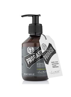 Proraso Beard Wash Cypress & Vetyver 200ml