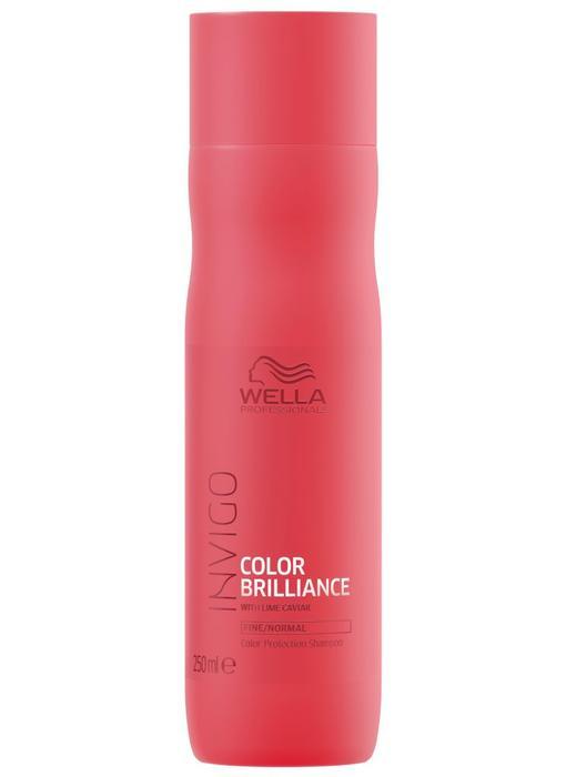 Wella Invigo Colour Brilliance  Shampoo Fijn / Normaal  250 ml