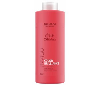 Wella Invigo Colour Brilliance Shampoo Fijn / Normaal  1000ml