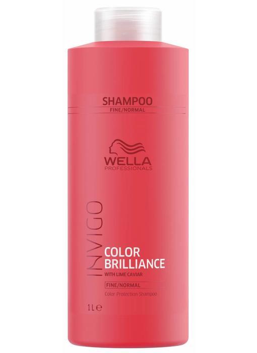 Wella Invigo Colour Brilliance Shampoo Fijn / Normaal  1000ml