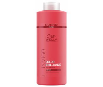 Wella Invigo Color Brilliance Shampoo Weerbarstig Haar 1000ml