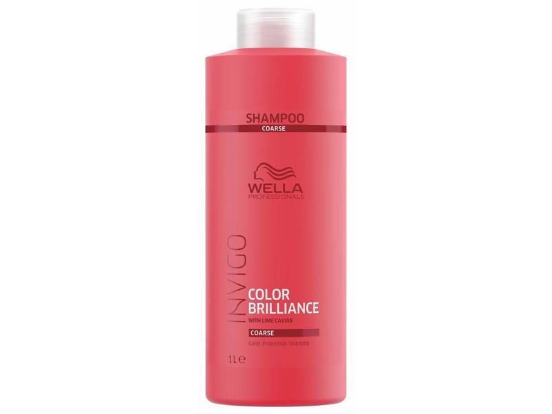 Wella Invigo Color Brilliance Shampoo Weerbarstig Haar 1000ml