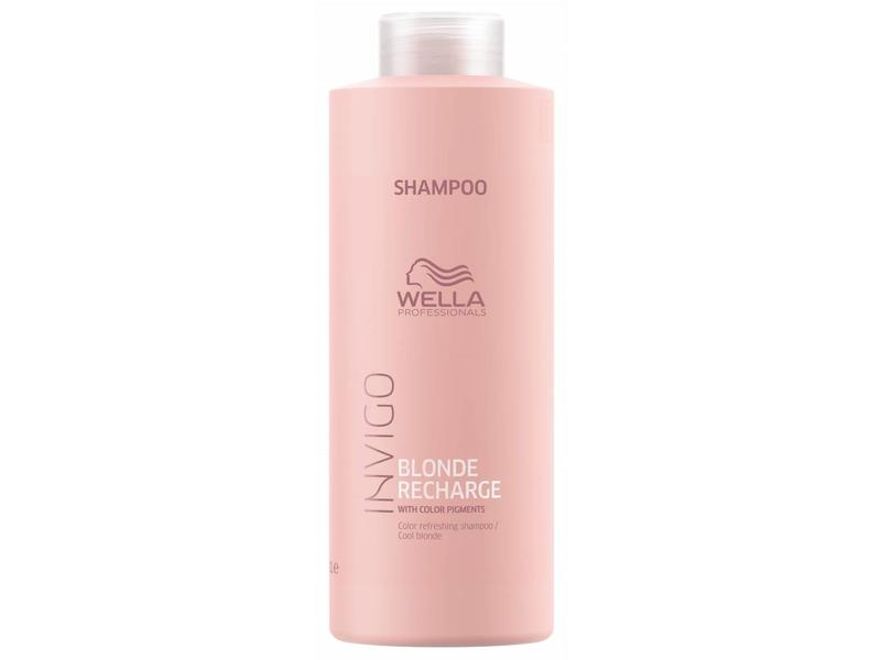 Wella Invigo Blond Recharge Cool Blonde Color Refreshing Shampoo 1000ml