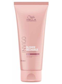 Wella Invigo Blond Recharge Warm Blonde Color Refreshing Conditioner 200 ml