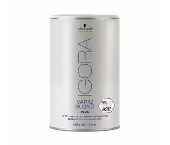 Schwarzkopf Igora Vario Blond Plus Blauw 450 gram