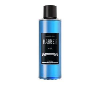 MARMARA BARBER Cologne NO2 Blauw 500ml  Glass Bottle