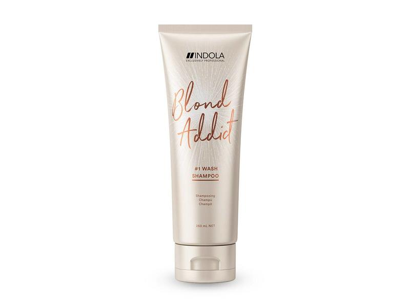 Indola Professional Blond Addict Wash Shampoo 250ml