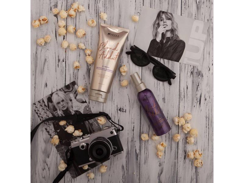 Indola Professional Blond Addict Wash Instant Cool Shampoo 250ml