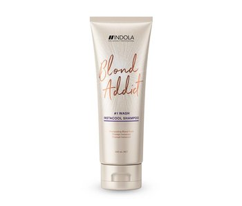 Indola Professional Blond Addict Wash Instant Cool Shampoo 250ml