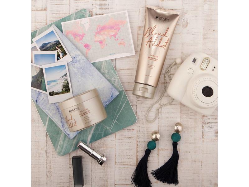 Indola Professional Blond Addict Wash Shampoo 1000ml