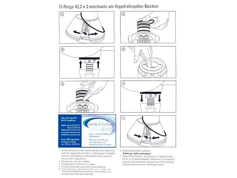 Jobst O-Ringen Set 12 stuks