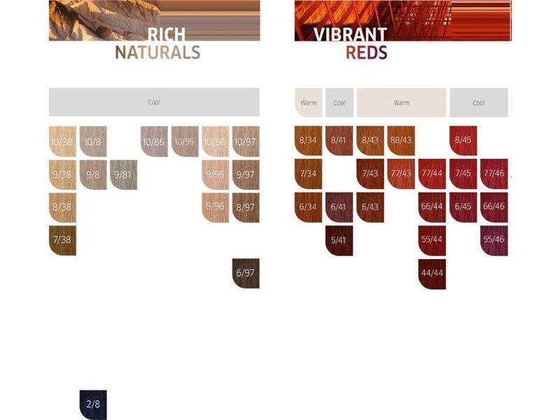 Wella WellaKoleston Haarverf 60ml kleurnummers  2/0 t/m 77/46