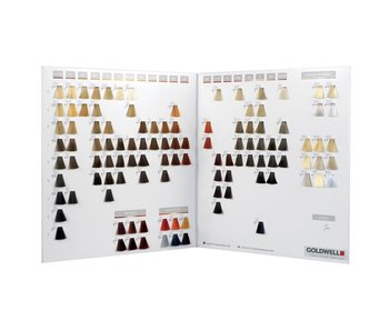 Goldwell Topchic Color Card