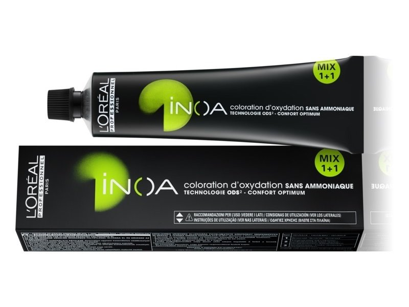 L'Oréal Professionnel Inoa 2-parts 60gr. kleur 7 t/m 10