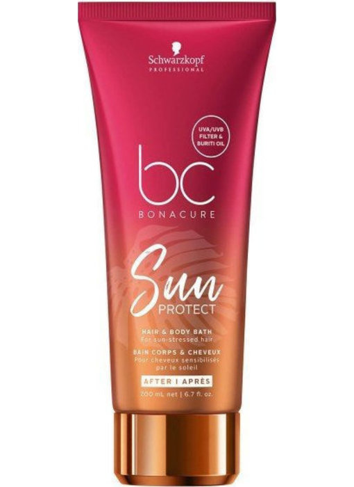 Schwarzkopf BC Sun Protect Hair & Body Bath 200ml