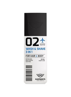 HAIRWAYS 02 - Wash & Shave 3 In 1 - 100 ml