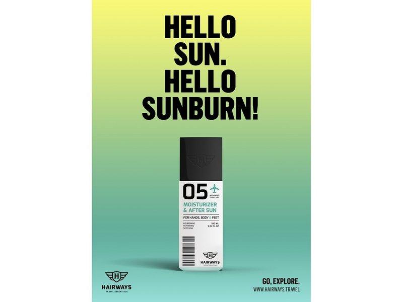 HAIRWAYS 05 - Moisturizer & After Sun - 100 ml