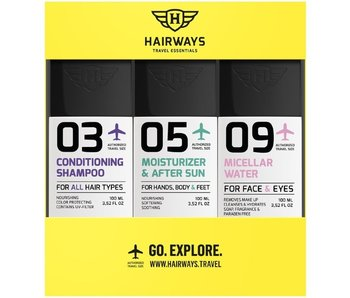 HAIRWAYS Travel Essentials Kit - 03-05-09