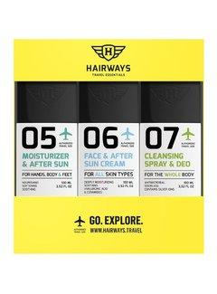 HAIRWAYS Travel Essentials Kit - 05-06-07