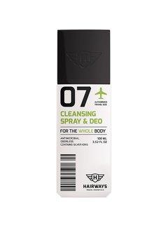 HAIRWAYS 07 - Cleansing Spray & Deo - 100 ml