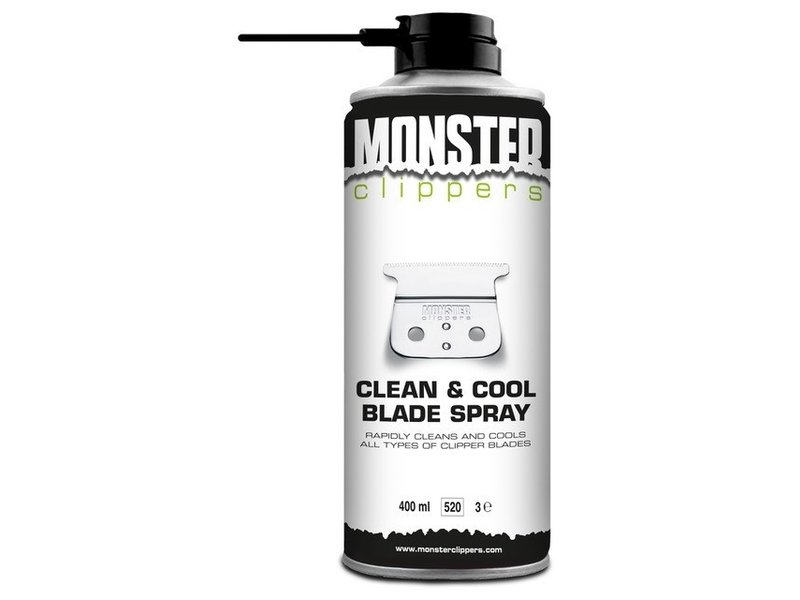 Monster Clippers Clean & Cool Blade Spray 400ml