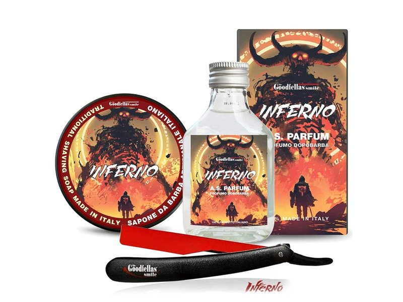 The Goodfellas Smile Shaving Set TRIO Inferno
