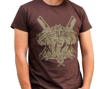 Hey Joe! T-Shirt Trust Me Brown XL