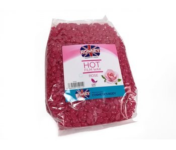RONNEY Hot Film Wax Korrels Rose 1000Gr.