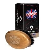 RONNEY Barber Wooden Beard Brush