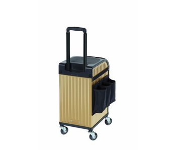 Sibel Rollercoaster Stoolcase Gold