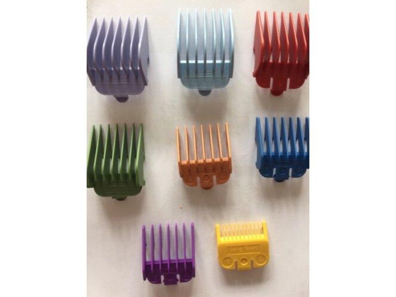 The Shave Factory Opzet Kammenset Gekleurd 8 stuks