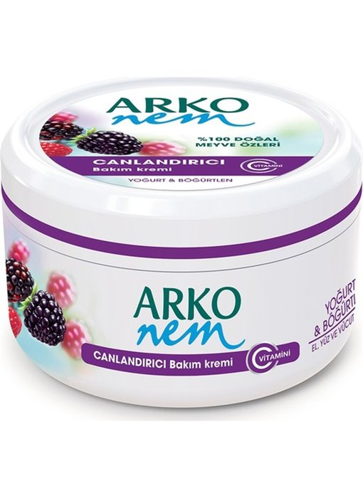 ARKO  Handcreme Yoghurt Blackberry 300ml