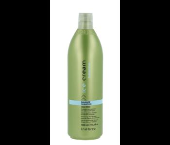 Inebrya Balans Shampoo voor Vet Haar en Hoofdhuid 1000ml
