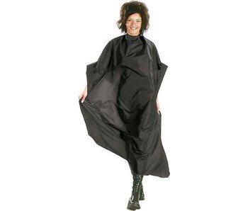 Sibel Mystery Kapmantel Zwart