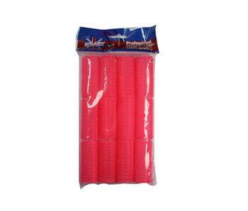 RONNEY Velcro Kleef Rollers  Roze 24mm