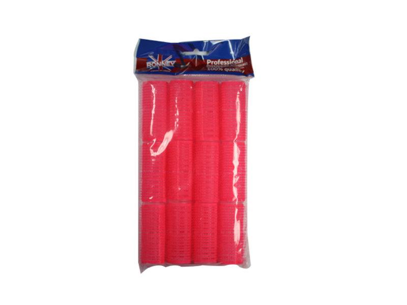 RONNEY Velcro Rollers  Roze 24mm